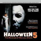 HALLOWEEN 5 (MUSIQUE DE FILM) - ALAN HOWARTH - JOHN CARPENTER (CD)
