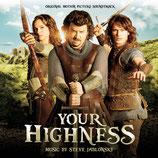VOTRE MAJESTE (YOUR HIGHNESS) MUSIQUE DE FILM - STEVE JABLONSKY (CD)