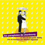 LES PARAPLUIES DE CHERBOURG (MUSIQUE) - MICHEL LEGRAND (2 CD)