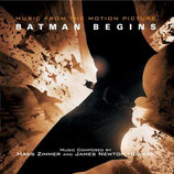 BATMAN BEGINS (MUSIQUE) - JAMES NEWTON HOWARD (CD)