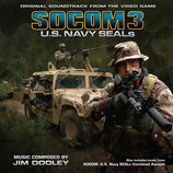 SOCOM 3 US NAVY SEALS (MUSIQUE) - JIM DOOLEY (2 CD + AUTOGRAPHE)