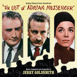 LE DERNIER DE LA LISTE (THE LIST OF ADRIAN MESSENGER) - JERRY GOLDSMITH (CD)