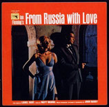 BONS BAISERS DE RUSSIE (FROM RUSSIA WITH LOVE) - JOHN BARRY (CD)