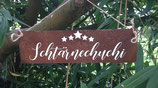 """Schild """"Schtärnechuchi"""""""