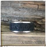 Fingerring Lava schwarz