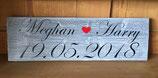 Hochzeits-Schild