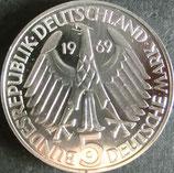 ドイツプルーフ銀貨 西暦1969年