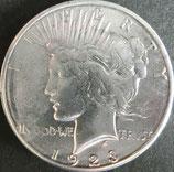 ピース1$銀貨  西暦1923年