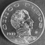 メキシコ銀貨 西暦1972年