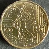 フランスEURO 西暦1999年