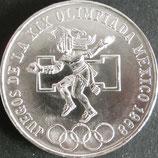 メキシコオリンピック銀貨 西暦1968年