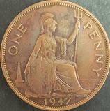 イギリス記念貨 西暦1947年