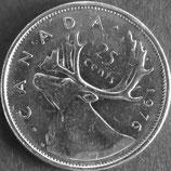 カナダ銀貨 西暦1976年