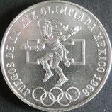 メキシコオリンピック銀貨