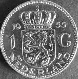 オランダ銀貨 西暦1955年