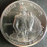 アメリカ記念銀貨(ジョージワシントン) 西暦1982年