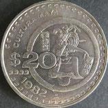 メキシコ 西暦1982年