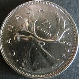 カナダ銀貨 西暦1972~80年