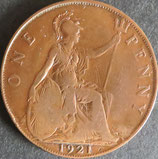 イギリス 西暦1921年