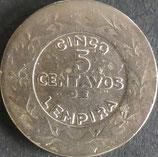 ホンジュラス 西暦1931年