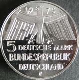 ドイツ記念プルーフ銀貨 西暦1975年