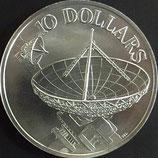 シンガポール銀貨Φ40