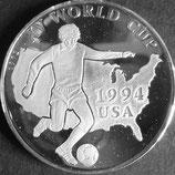 ワールドカップ1ドル銀貨プルーフ