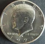 ケネディ 50セント 西暦1971年