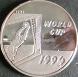 ラオス国王 サッカー大会記念プルーフ銀貨