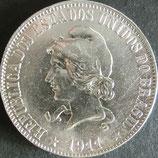 ブラジル銀貨 西暦1911年Φ33