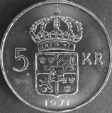 スウェーデン 西暦1971年Φ34