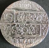 フィンランド銀貨 西暦1970年