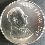 南アフリカ共和国銀貨 西暦1967年
