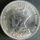 カナダ記念銀貨 西暦1935年
