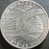 ドイツ銀貨 西暦1972年