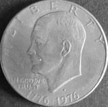 アイゼンハワー 1ドル 西暦1976年