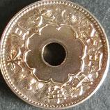 大型5銭白銅貨 大正6年