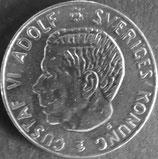 スウェーデン銀貨 西暦1961年