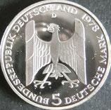 ドイツプルーフ銀貨  西暦1978年