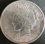 ピース1$銀貨西暦1922年