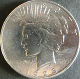 ピース1$銀貨