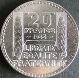 フランス銀貨 西暦1933年
