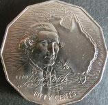 オーストラリア記念貨 西暦1970年