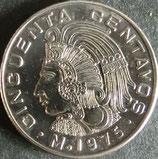 メキシコ記念貨 西暦1975年