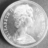 カナダ記念銀貨  西暦1966年