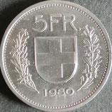 スイスフラン 西暦1980年