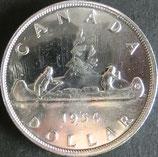 カナダ記念銀貨 西暦1954年