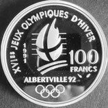 フランス銀貨プルーフ