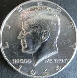ケネディ銀貨西暦1964年