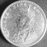 インド記念銀貨 西暦1917年